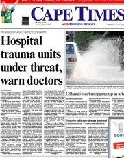 Cape Hospital trauma units under threat warn doctors