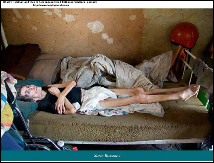 AfrikanerPoor_SarieRossouw_starving to death Eagles Nest Squatter camp no food aid