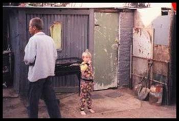 AfrikanerPoorChildShackLife Johan Lamprecht Pic