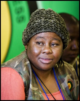 ANC youth league secretaru gemera; Vuyiswa Tulelo supports North Korea