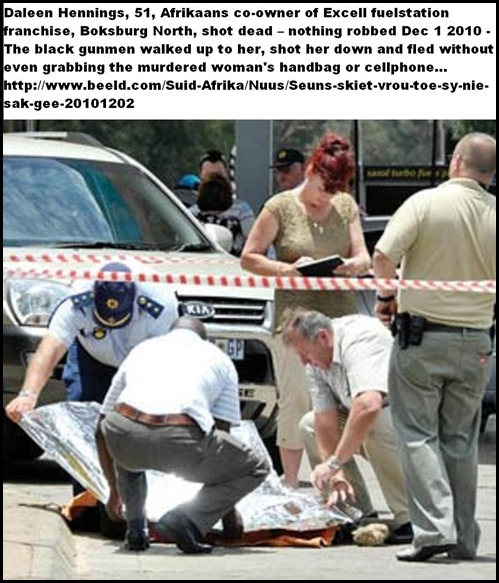 Hennings Daleen and Louis shot dead Boksburg North Excel fuelstation NOTHING ROBBED