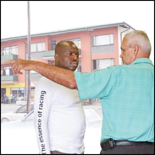 Pretorius Peet Furniture City Pietersburg attacked 3 armed black men