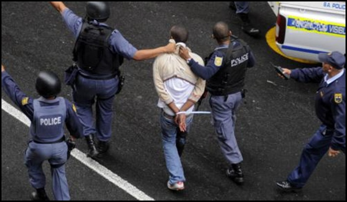 ARMS CACHE MAN ARRESTED HIGHSPEED CHASE N4 ROSSLYN