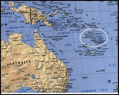 KROG baby may have been taken to Vanuatu north east of Australia