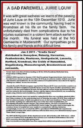 Louw Jurie Kromdraai Krugersdorp attack nothing robbed Nov282010 DIES OF INJURIES3