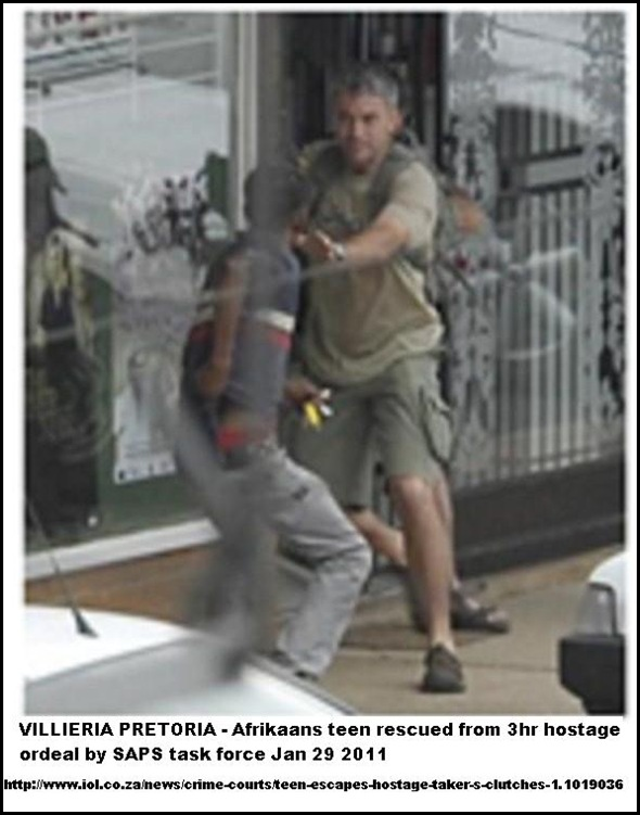 VILLIERIA PRETORIA AFRIKAANS HOSTAGE RESCUED JAN292011 BEELD
