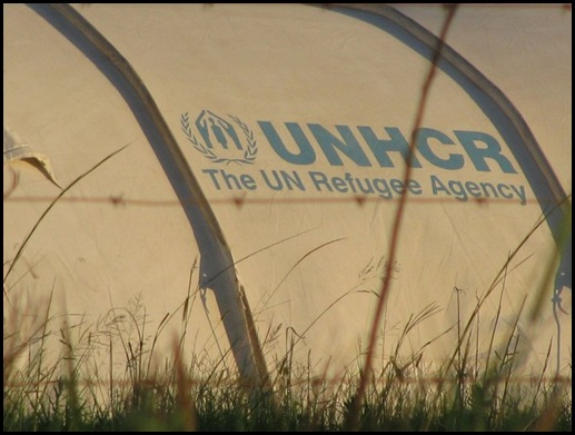 Wallmansthal UNHCR Tent camp Pienaarsrivier Jan72010