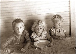 Afrikaner children are suffering from hunger