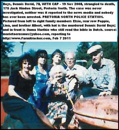BUYS family ltr SISTER Elsie_ Poppie__Lina _Albert_murdered Dennis_front_OumaMarthie