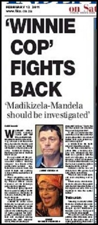 ODENDAAL Jannie sues Winnie Mandela over suppression of his rights Fb2011 Pretoria