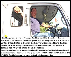 Parkins George Eastleigh trucker SURVIVES mob_attack Feb162011