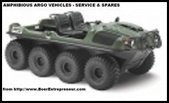 BOER ENTREPREUR AMPHIBIOUS ARGO SERVICE AND SPARES IN SA