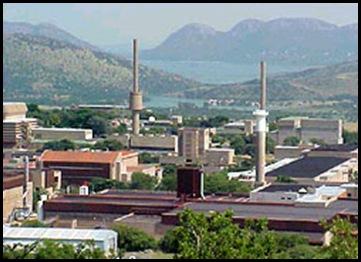 PELINDABA NUCLEAR ENRICHMENT PLANT ZA BUILT ON ACQUIFER