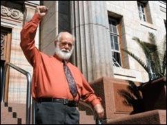 Rudolph Piet Skiet agent provocateur at Volksraadsverkiesingskommissie Feb2011 Krugersdorp