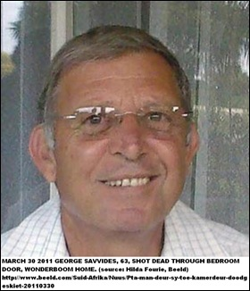Sawides George Wonderboom shot dead through front door March302011