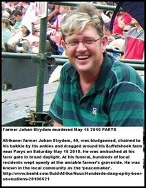 Strydom Johan 40 ChainedToBakkieMay152010BuffelshoekParysBludgeonedIronRodDRAGGED_TO_DEATH