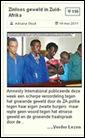 Adriana Stuijt Article7_ZINLOOS GEWELD IN ZUIDAFRIKA1