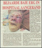 COETZEE LINA 85 BRUTALLY ASSAULTED IN POSTMASBURG STATE HOSPITAL BY BLACK MEN MAY 7 2011