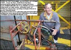 DE VRIES FRANS inventor testing acid mine weater Frans Mobile