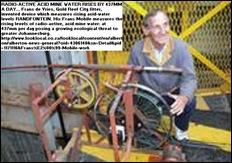 DE VRIES FRANS inventor testing acid mine weater Frans Mobile