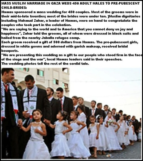 HAMAS CHILD BRIDES MASS WEDDING