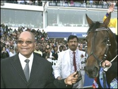 Peense Daryl DENIED SPILLING drink on Zuma Durban July 2010