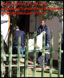 Cobb Robert 92 murdered Alberton June42011 Beeld