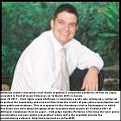 De Jager Hein AcaciaShopkeeperExecuted5blacksAcquittedAfriforumProbesSoshanguveTrial