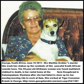 Grobler Marthie murdered Geroge June2011