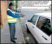 Odendaal Janet car guard shows how she was murderedKemptonPark police station