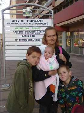 BRITS ELSIE and children dumped in street ANC council breaks her tent and shack down Aug252011