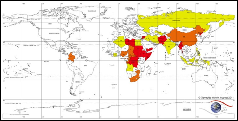 Genocidewatch_Countries_At_Risk_Aug_2011