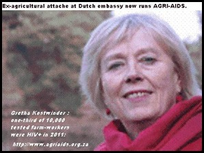 GRETHA KOSTWINDER DUTCH FOUNDER AGRIAIDS SOUTH AFRICA