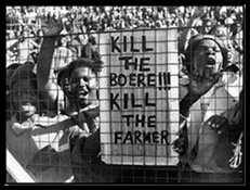 KILL BOERE KILL FARMER AND SHOOT THE BOER ARE ILLEGAL HATESPEECH