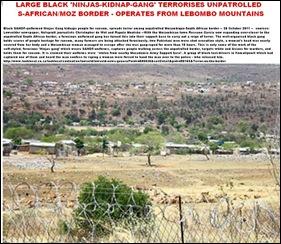 NINJAS GANG TERRORISING komatie MOZ SA BORDER