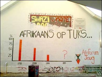 AFRIKAANS OP TUKS UNIVERSITEIT AFRIFORUM PROTES