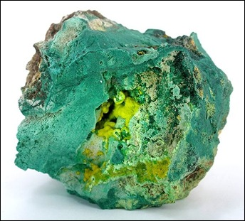 SHINKILOBWE URANOPHANE MALACHITE PIC PUBLIC DOMAIN WIKIPEDIA COMMONS