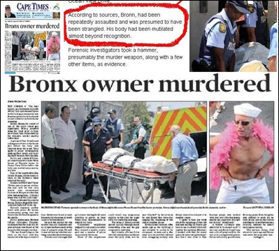 BRONN BRUNO nightclub owner mutilated beyond recognition INSERT gruesome Greenpoint CT murder Feb 7 2012