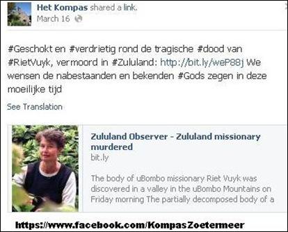 VUYK RIET Het Kompas ChrisGeref gemeente Zoetermeer nl
