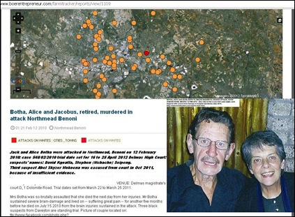 Botha Jack and Alice murdered Feb122010 Northmead Benoni TRIAL Delmas from April162012