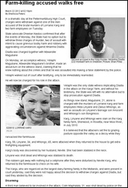 KARG triple farm murder accused walks free Pietermaritzburg court Mar 22 2012