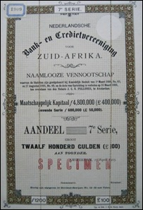 NEDBANK DUTCH SHARE NR 1909