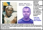 DE GOEDE_BABY BOTES MURDER SUSPECT THEMA MAHLANGU BEING SOUGHT SAPS CAPT JACOBS TEL 0823700899