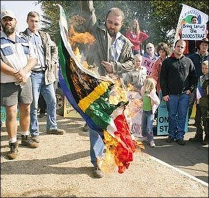 DELMAS MEMORANDUM OF TRUTH HANDING OVER MAY 31 12012 PROTEST FLAGBURNING