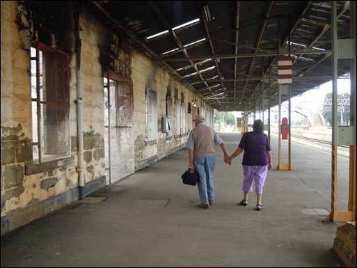 KROONSTAD 14 RAILWAY STATION JAN SEMPELS OCT24 2012