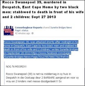 SwanepoelRocco39StabbedToDeathAtHomeByTwoBlacksDespatchECSept272013